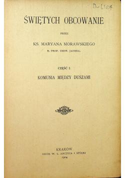 Świętych obcowanie 1904 r.
