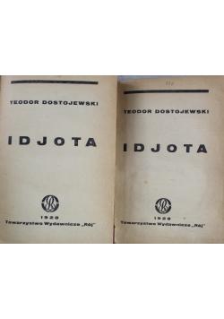 Idjota  Serja 2 Tom I do IV 1928 r.