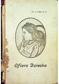 Ofiara Dziecka 1922 r.