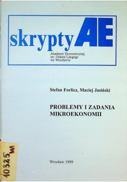 Problemy i zadania mikroekonomii
