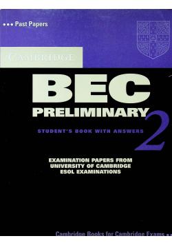 BEC preliminary 2