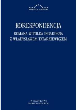 Korespondencja Romana Witolda Ingardena...