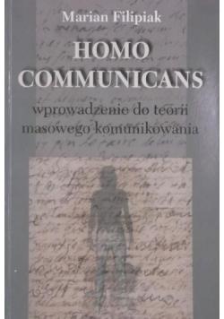 Homo communicans Wprowadzenie do teorii masowego komunikowania