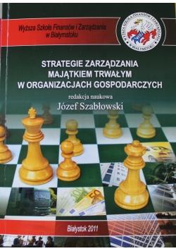 Strategie zarządzania majątkiem trwałym w organizacjach gospodarczych