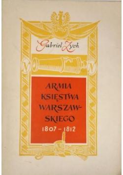 Armia Księstwa Warszawskiego 1807 - 1912