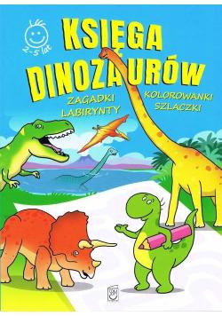 Księga Dinozaurów activity Zagadki, kolorowanki, labirynty, szlaczki