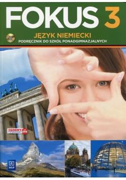 Fokus 3 Język niemiecki Podręcznik z płytą CD