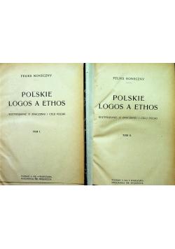 Polskie logos a ethos 2 tomy 1921 r.