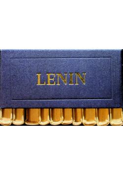Lenin 10 tomów Minatury