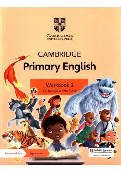 Cambridge Primary English Workbook 2 with Digital access