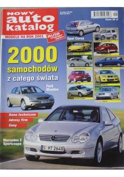 Nowy auto katalog  Modele na rok 2001