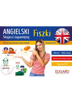 Angielski Skojarz i zapamiętaj Fiszki