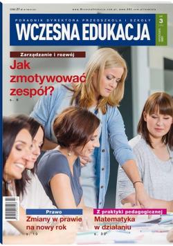 Wczesna Edukacja. Poradnik dyrektora 3/2021