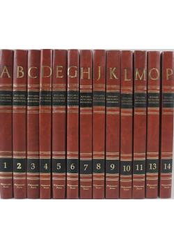 Popularna encyklopedia powszechna 13 tomów