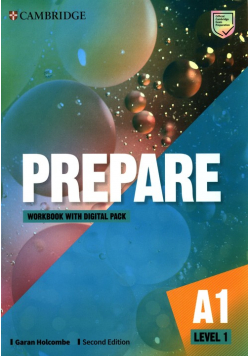 Prepare Level 1 Workbook with Digital Pack