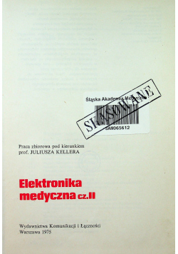 Elektronika medyczna cz 2