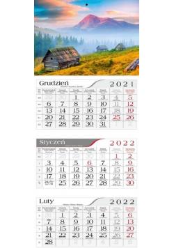 Kalendarz 2022 Trójdzielny Bacówka CRUX