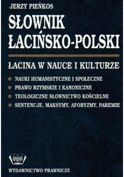 Słownik łacińsko polski  Łacina w nauce i kulturze