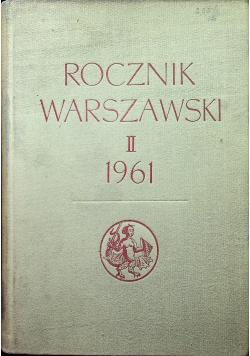 Rocznik Warszawski II