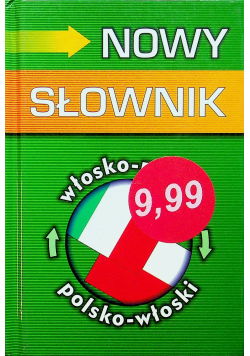 Nowy słownik włosko polski polsko włoski
