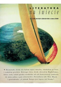 Literatura na świecie nr 1 2