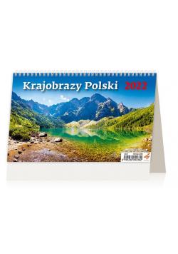 Kalendarz 2022 biurkowy Krajobrazy Polski HELMA
