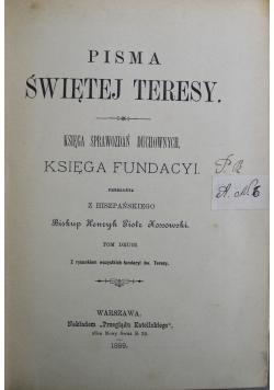 Pisma św Teresy 1899r