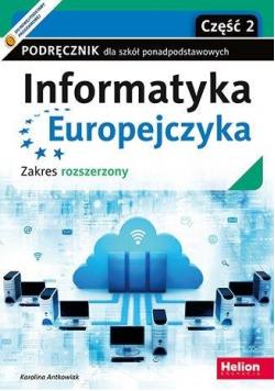 Informatyka Europejczyka LO podręcznik ZR cz.2