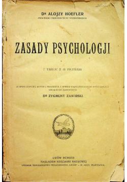 Zasady psychologji 1922 r