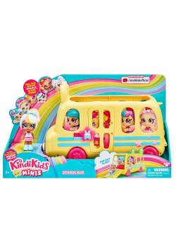 Kindi Kids Mini - Autobus szkolny