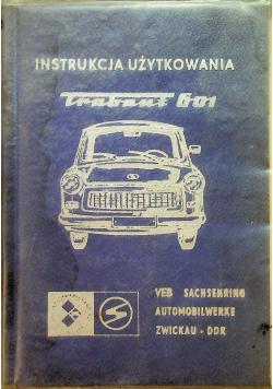 Instrukcja użytkowania samochodu osobowego trabant 601