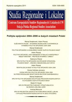 Studia Regionalne i Lokalne 2011 wydanie specjalne