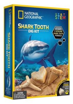 Zestaw wykopaliskowy Ząb rekina Nat Geo