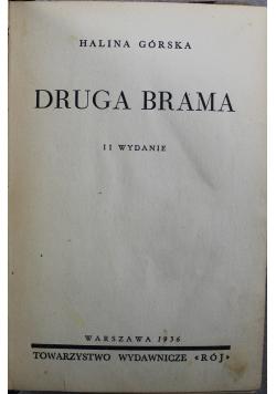 Druga brama  1936 r
