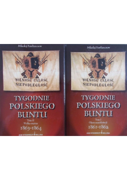 Tygodnie polskiego buntu 2 tomy od 1 do 2