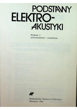 Podstawy elektroakustyki