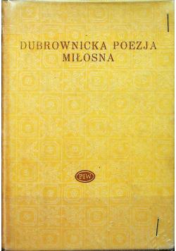 Dubrownicka poezja miłosna