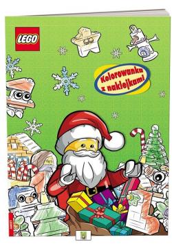 LEGO(R). Kolorowanka z Naklejkami