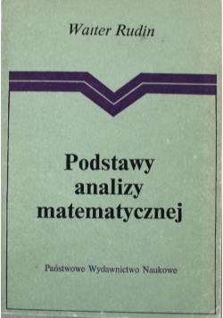 Podstawy analizy matematycznej