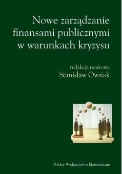 Nowe zarządzanie finansami publicznymi w warunkach kryzysu