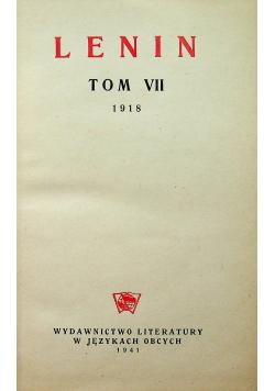 Lenin dzieła wybrane tom VII 1941 r