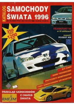 Samochody świata 1996