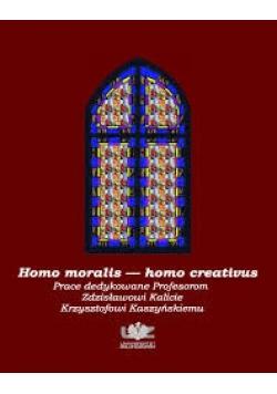 Homo moralis homo creativus