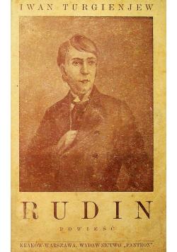 Rudin Powieść 1929 r.