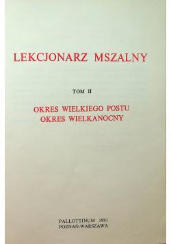 Lekcjonarz Mszalny Tom II
