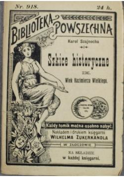 Szkice historyczne 1902 r