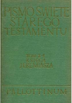 Pismo Święte Starego Testamentu Tom X część 1