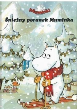 Muminki Śnieżny poranek Muminka
