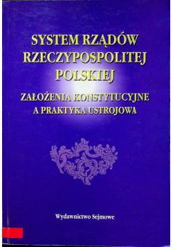 System rządów Rzeczypospolitej Polskiej