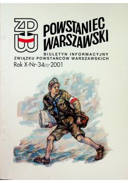 Powstaniec warszawski nr 34